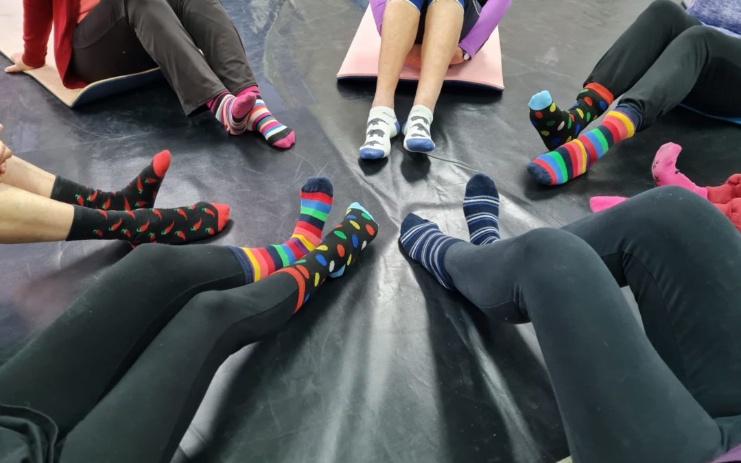 What's up with Crazy Sock Week?
